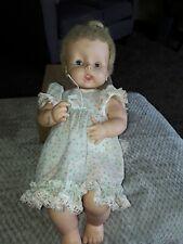 Vintage HORSMAN BABY DOLL Blonde-Blue Eye 1962