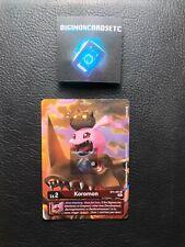 Digimon Card Game BT5-001 Koromon U TO Premier June Event Tournament Promo MINT
