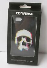 Converse Case for iphone 5S (Black Skull)