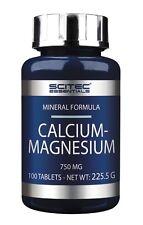 Scitec Nutrition - Calcium Magnesium, 100 Tabletten - hoch dosiert, Knochen -