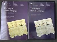 The Great Courses Story of Human Language DVD & Course Guidebook FAST SHIPPED