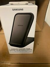 NEW Samsung 15W Qi Certified Fast Charge Wireless Charging Stand iPhone/Android