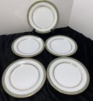 "Noritake ""Thurston"" Salad Plates - Set of 5"