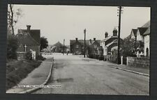 Tongham, The institute, street view    RP  postcard  Zd.309