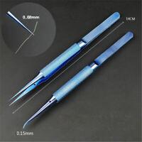 0.15mm Titanium Alloy Pointed Tweezers Jumper Wire Fingerprint Repair Tools