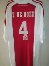 Ajax 2010-2011 Frank De Boer Home Football Shirt Extra Extra Large BNWT /14353