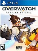 PlayStation 4 : Overwatch - Origins Edition - PlayStatio VideoGames
