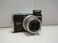 Canon PowerShot SX200 IS 12.1MP Point & Shoot Digital Camera AS-IS