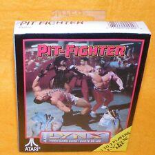 VINTAGE 1992 ATARI LYNX HANDHELD PIT-FIGHTER VIDEO GAME CARD BOXED SEALED