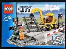 LEGO CITY 7936 LEVEL CROSING TRAIN SEALED NEW