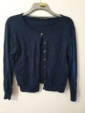 Atmosphere Navy Blue Long Sleeve Cardigan Size 18