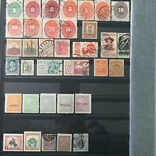 #300 Mexico, Paraguay, Uruguay mixed postal stamps from collection