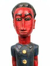 Art Africain African Arte Africano Africana Afrikanische Colon Baoulé - 30 Cms