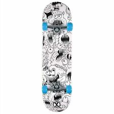 "Xootz DoubleKick 31""x8"" Full Size Complete Childrens Skateboard - Colour In"