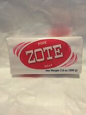 Zote Laundry Soap Bar - Pink 7oz Each Ship From USA Great For Catfish bait