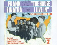 CD FRANK SINATRA the house i live in EARLY INCORES 1943-46  VOL 2  US 1990 NM