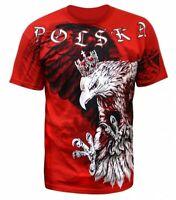 T-shirt Koszulka Eagle Orzeł Polish Flag Polish Poland Polska Patriotic Red