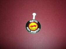 FERRARI 312P - Mattel Hot Wheels metal badge/pin/button/pinback 1969