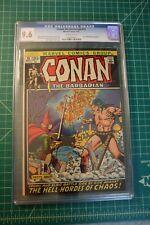 CONAN THE BARBARIAN #15 CGC GRADED AT 9.6 (1971)