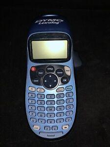DYMO LetraTag LT-100H Handheld Portable Electronic Labeler Label Maker, Blue