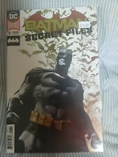 Batman Secret Files 1 - Foil Cover 1st Print NM
