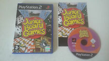 JUNIOR BOARD GAMES - SONY PLAYSTATION 2 - JEU PS2 COMPLET