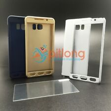 SAMSUNG GALAXY NOTE 5 N920 360 FULL COVER CASE -- FREE TEMPERED GLASS