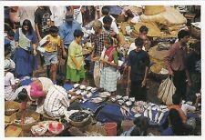 (32067) Postcard Mapusa Goa Market un-posted