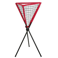 Ball Caddy Baseball Softball Tennis Practice Pitching Batting Bownet Portable