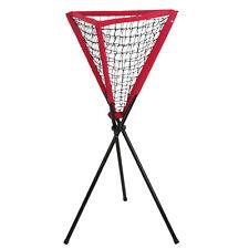 Ball Caddy Baseball Softball Tennis Practice Pitching Batting Bownet Portable
