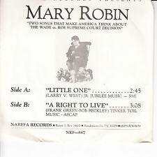 MARY ROBIN Little One VG+(+) 45 RPM P/S VG