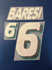 italia kit BARESI bianco Nameset maglia calcio diadora usa 94