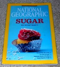 National Geographic AUGUST 2013 Sugar, Lions, Maya Underwater, India Elephants