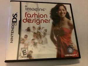 Imagine: Fashion Designer (Nintendo DS, 2007) Game, OEM Case & Instruction Book