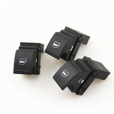 3x Passenger Window Glass Lock Switch Button For VW Jetta Golf MK5 MK6 Passat B6