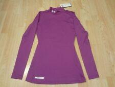 Women's Under Armour S NWT Purple L/S Compression Shirt