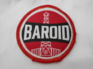 BAROID USED SEW ON NAME PATCH TAG