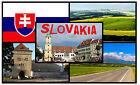 SLOVAKIA - SOUVENIR NOVELTY FRIDGE MAGNET - BRAND NEW - GIFT