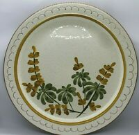 "Stangl Hand Painted  12"" Platter / Golden Blossom Chop Plate Oven Proof"