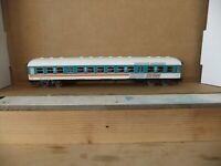 Marklin 4222 DB Commuter 2nd Cl coach City-Bahn blue/white/orange stripe boxed