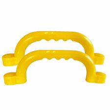 2x Handgriffe gelb Haltegriffe für Spielturm Schaukelvon Gartenpirat De