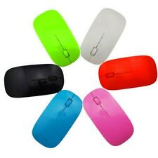 WHOLESALE LOT - Mouse Ultra Thin USB Wireless 2.4G Super Slim For Computer PC ✅