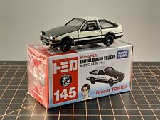 Tomy Dream Tomica Made in Vietnam 145 Initial D AE86 Trueno Black Hood