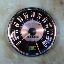"Vintage Style Speedometer Photo Fridge Magnet 2 1/4""  Kaiser Manhattan 1952"