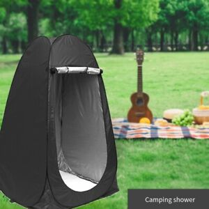 Portable 75 Inch Pop Up Tent Outdoor Shower Camping Changing Privacy Room