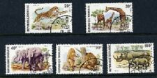 Togo 1974 - Native Wildlife - Complete Set of 5 CTO