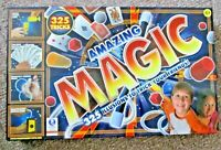 MAGIC ! AMAZING 325 ILLUSIONS & MAGIC TRICKS NEW IN BOX ! GREAT XMAS GIFT !