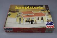 Z217 Jouef  1037 maquette train Ho 1:87 lampisterie decor diorama kit lamp house