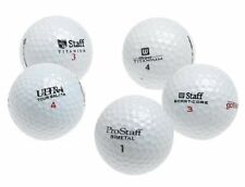 10 Dozen Wilson Assorted AAA Recycled Golf Balls + FREE TEES