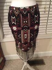 Haute Hippe Sequin Skirt Size 6 NEW